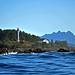 The Lennard Island Lighthouse near Tofino BC
