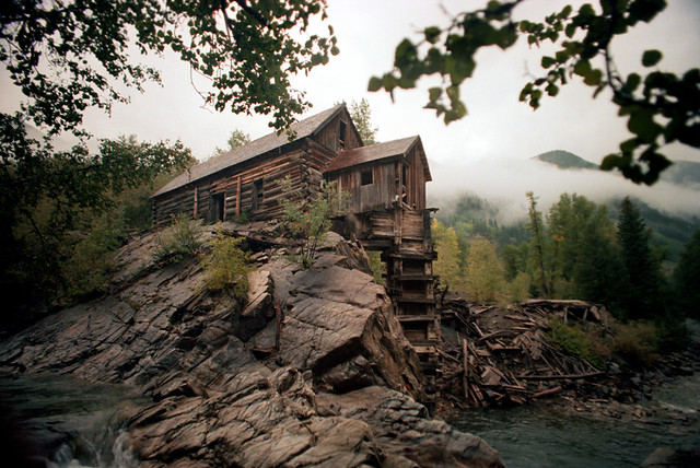 98 830 Crystal Colorado Ghost Town Fall 1977 The