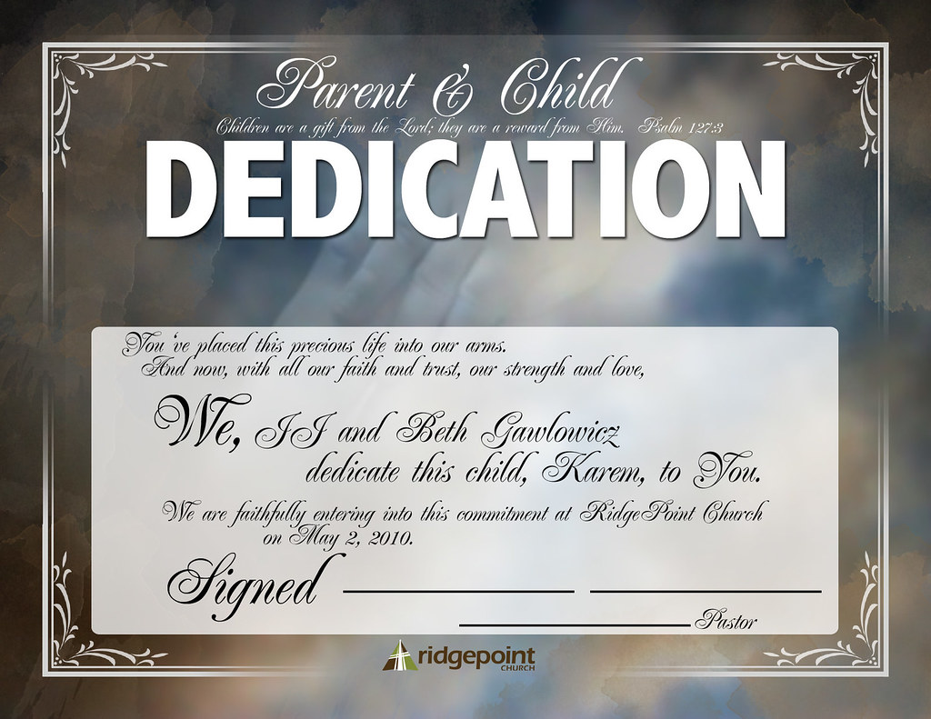 BabyDedication | By Mommytianafor3 BabyDedication | By Mommytianafor3  Baby Dedication Certificates Templates