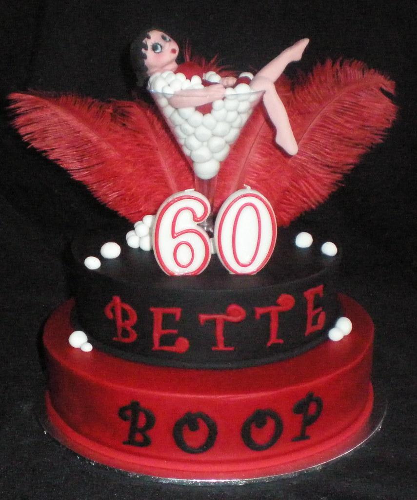 Betty Boop Birthday Cake Photos