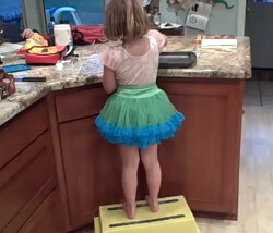 Kids Kitchen Step Stool Www Shure Step Com David