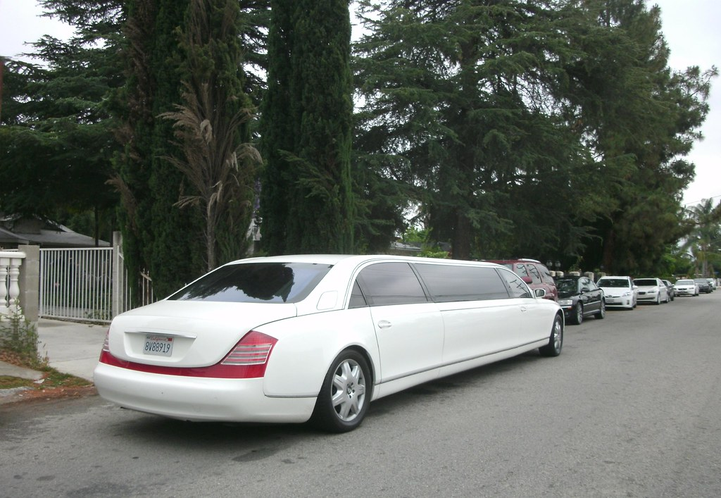 Long For a Humidor: Maybach Stretch Limousine | Seen in ...
