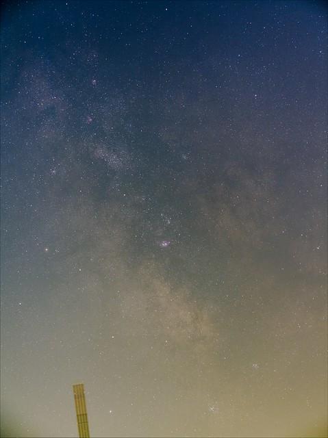 いて座の天の川 (2016/5/5 03:16)
