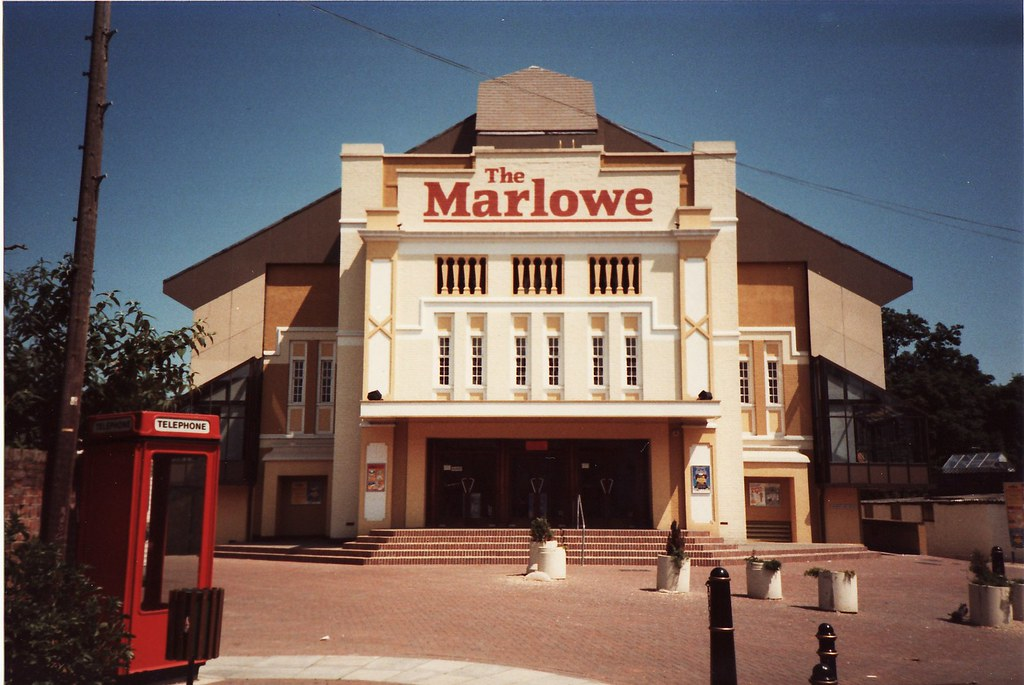 The Marlowe Theatre Canterbury Kent The Now Demolished