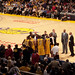 LAKERS BENCH VIEW FROM PR2 ROW 2