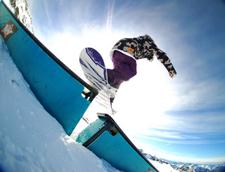 Rock On Snowboard Tour - Analog Rider Hero Rail | by Yanis Ourabah