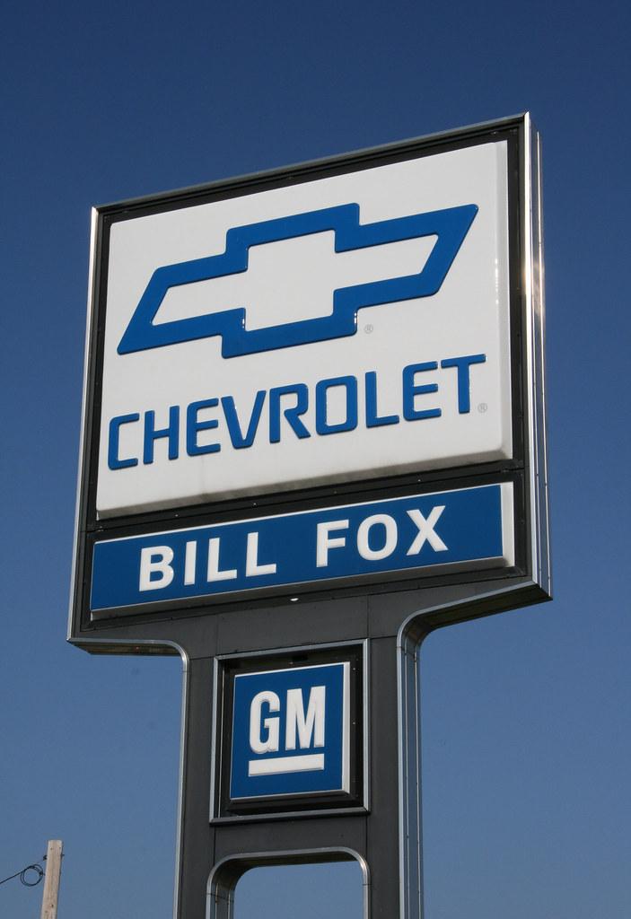 Bill Fox Chevrolet >> Bill Fox Chevrolet | Bill Fox Chevrolet dealer sign. As of N… | Flickr