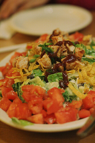 California Pizza Kitchen Bbq Chicken Salad