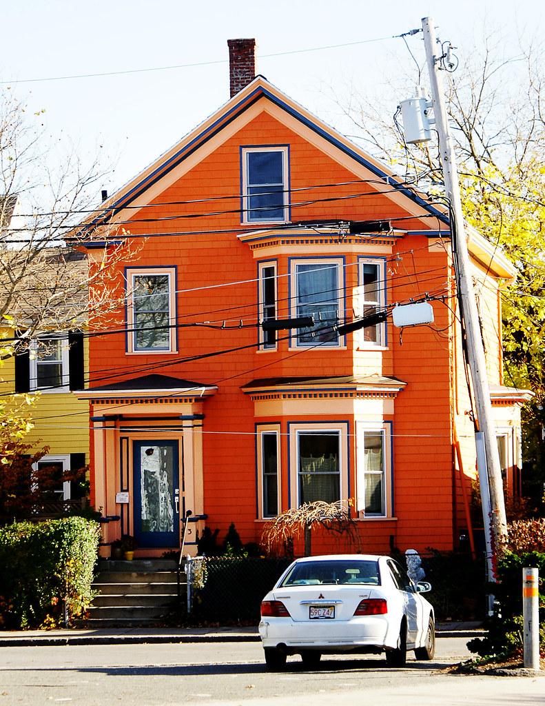 Orange House Erin Flickr