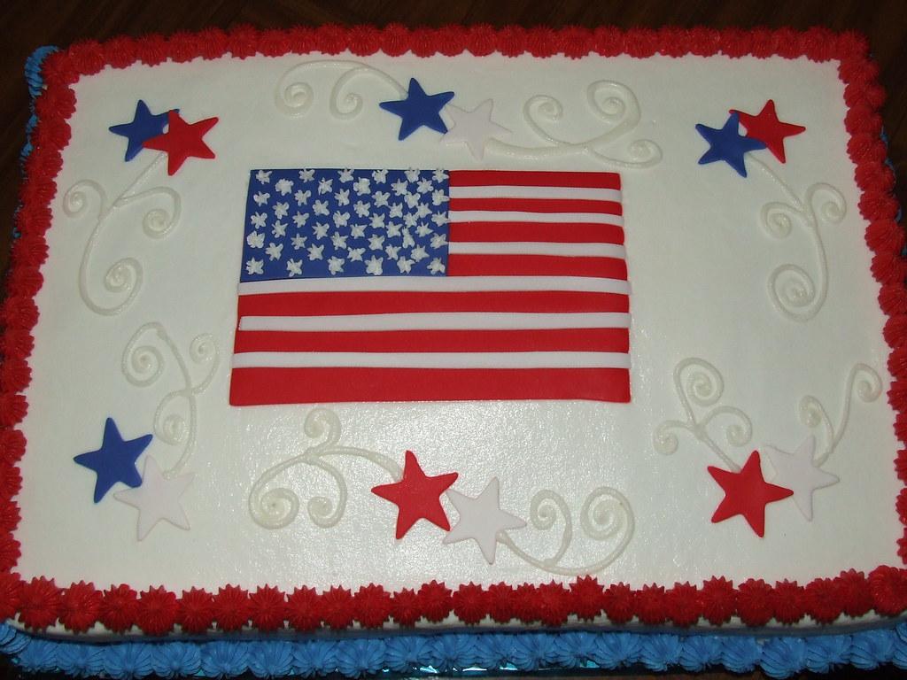 Patriotic Cake Designs