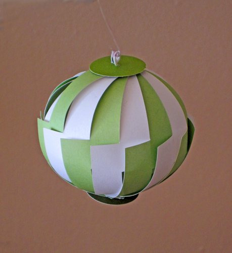 Paper Ornament z Pattern
