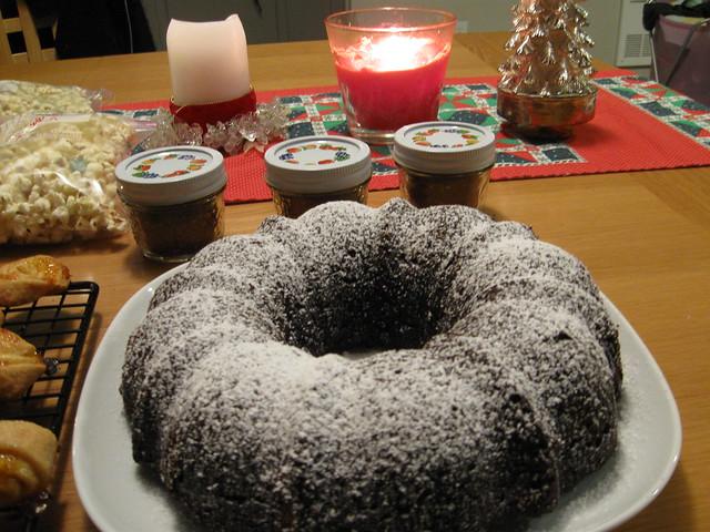 Popcorn Bundt Cake Recipe