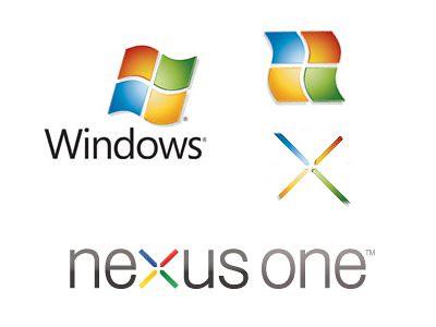 Nexus One Logo Evolution