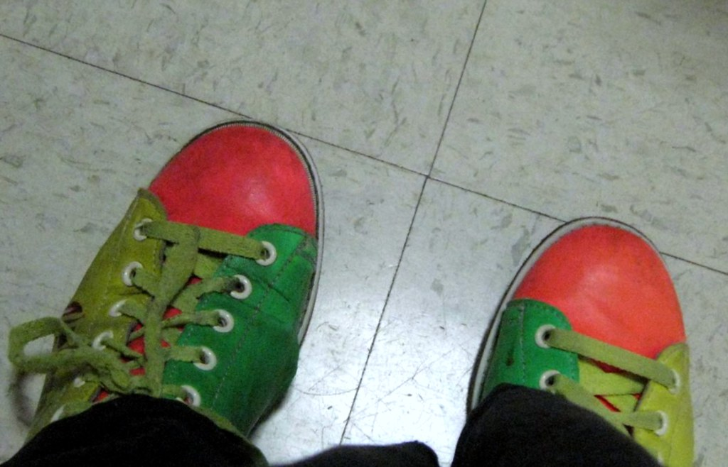 Bowling Shoes With Interchangeable Heels