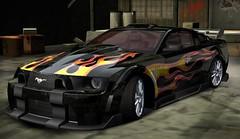 Aufgemotzter Ford Mustang Gt Aus Dem Spiel Need For Speed Most Wanted By Ganapub