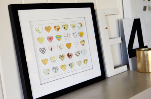 Heart Collage In Frame | by ali edwards