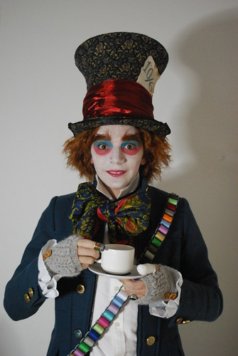 Mad Hatter | Costume of the Tim Burton's version of Alice ...  Mad
