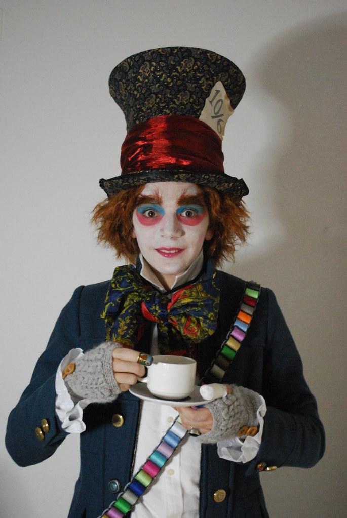 Mad Hatter | Costume of the Tim Burton's version of Alice ...  Mad Hatter Tim Burton Outfit