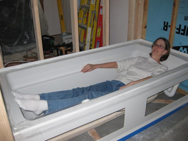 a tub for tall people can 39 t wait to fill this with
