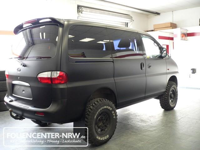 Kfz Vollverklebung Hyundai Starex Carwrapping Foliencenter