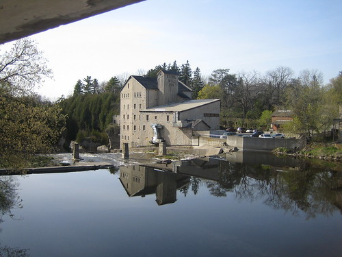 Elora (ON) Canada  city photos : Elora Mill Inn on the Grand River, Elora Ontario Canada | by eloramews