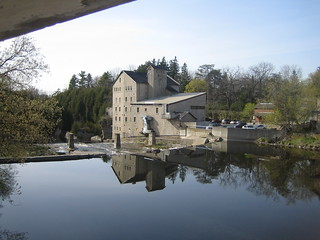 Elora Mill on the Grand River, Elora Ontario Canada | by eloramews
