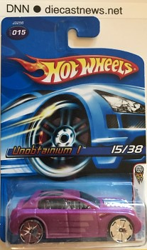2006 Hot Wheels Unobtainium 1, 2006 First Editions 15/38