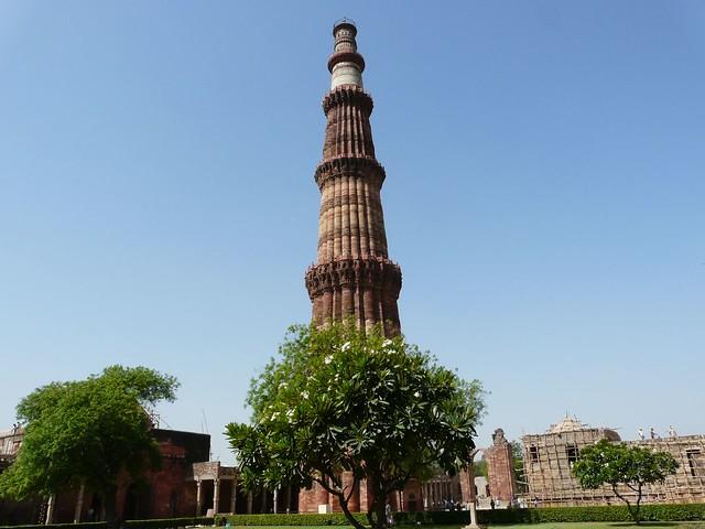 Minarete de Qutab Minar (Delhi, India)