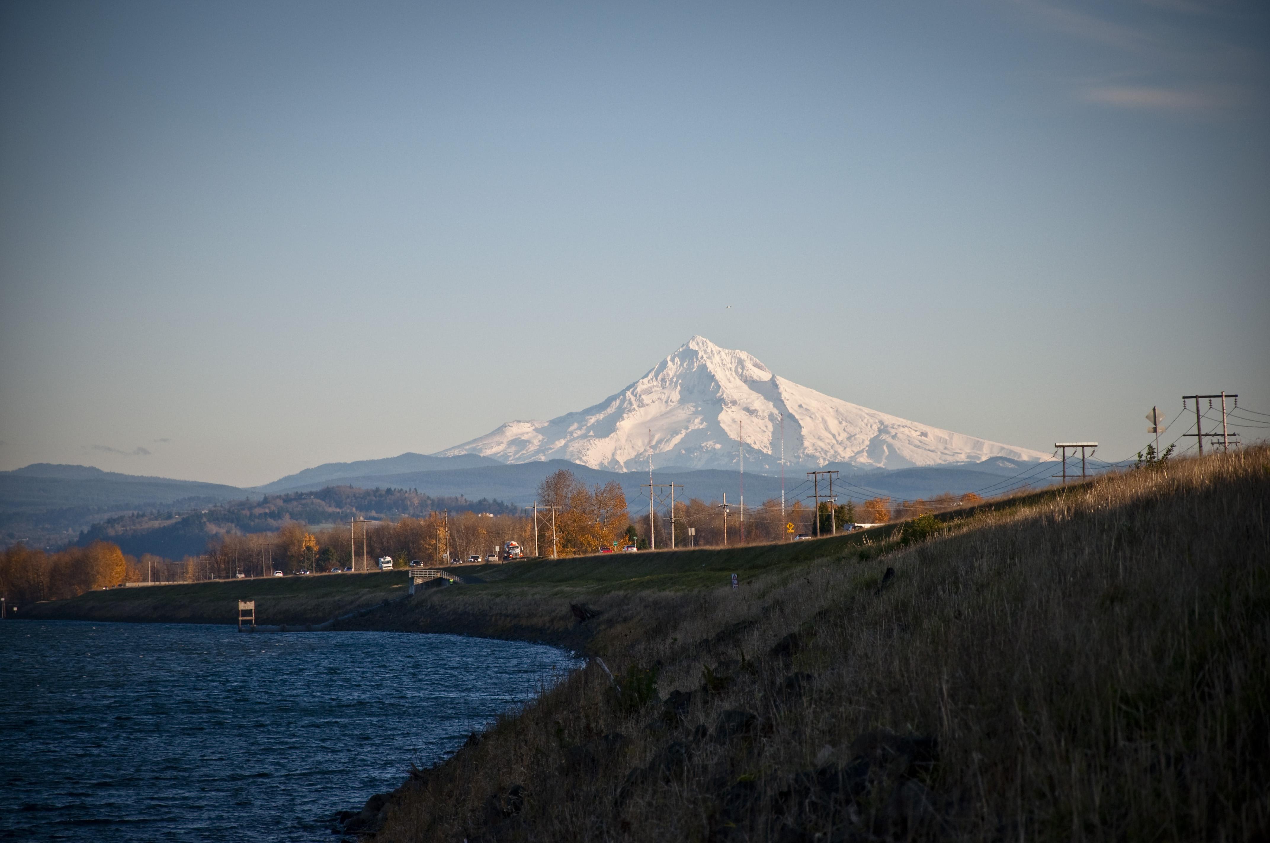 Mount Hood, Cascade range, Portland, Oregon