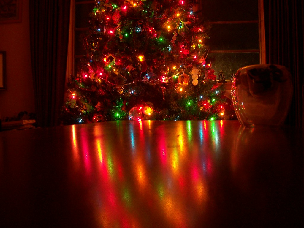 Table Christmas Tree With Lights