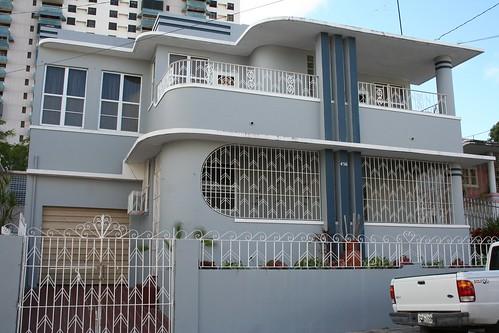 Streamline Moderne House  Streamline Moderne Sociedad