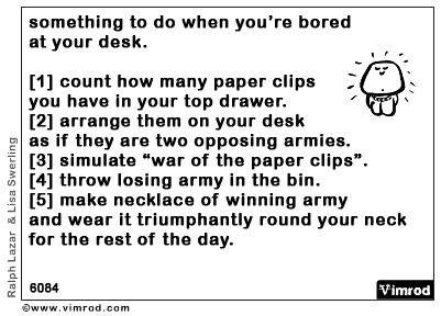 what should you do when your bored