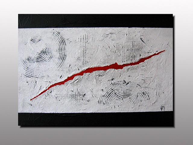 Magma action painting lepolsk matuszewski artiste peintre for Artiste art abstrait