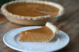 Pumpkin Pie with homemade crust | by Food Librarian