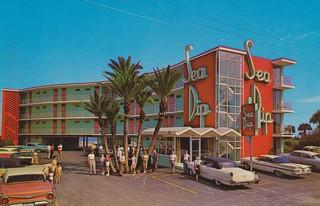 Sea Dip Motel Daytona Beach Florida