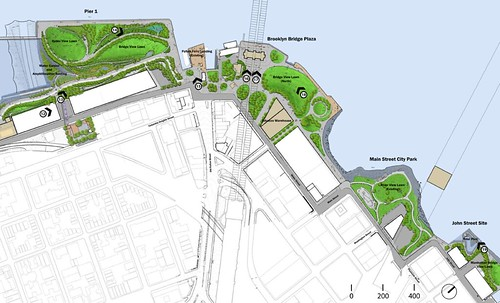 Brooklyn Bridge Park Plan north Courtesy Of Michael