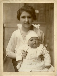 1925. My maternal grandmother and her first child | by elinor04 thanks for 28,000,000+ views!