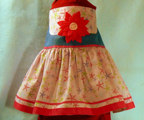 Girls Star Fish Ribbon Skirt Size 4 | by Westernstyle