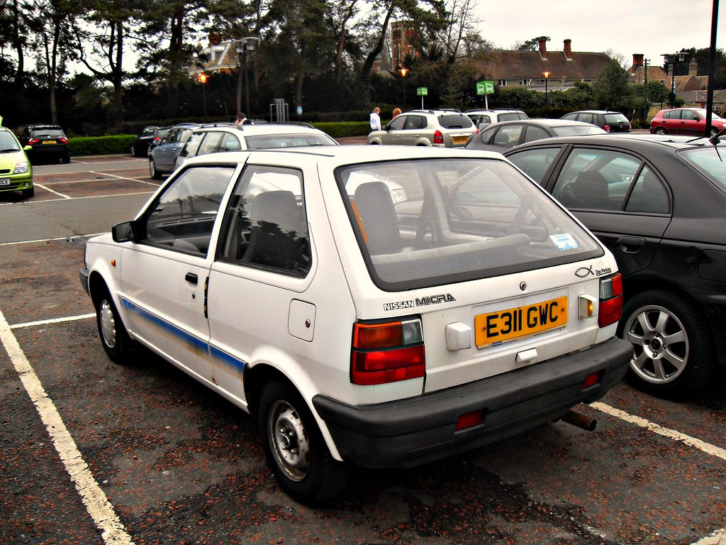 1988 nissan micra 1 0 ls k10 driven probably by a. Black Bedroom Furniture Sets. Home Design Ideas