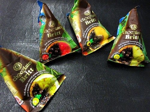 Britt Dark Chocolate Covered Fruit | by veganbackpacker
