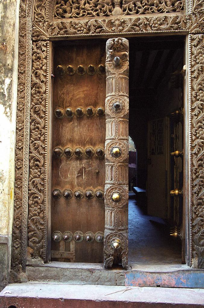 Seyffert Zanzibar doors (8) | by © Sam.Seyffert & Zanzibar doors (8) | See large on black Perhaps the most stru2026 | Flickr