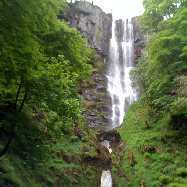 Highest Waterfall In Wales And England