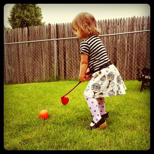 little golfer fashionista | by Stephanie Precourt
