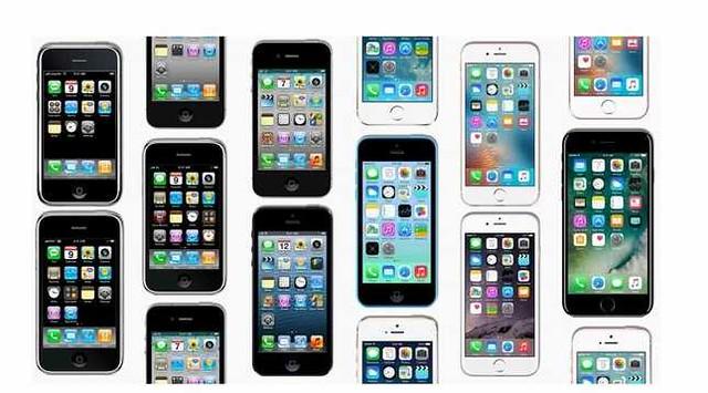 各代iPhone
