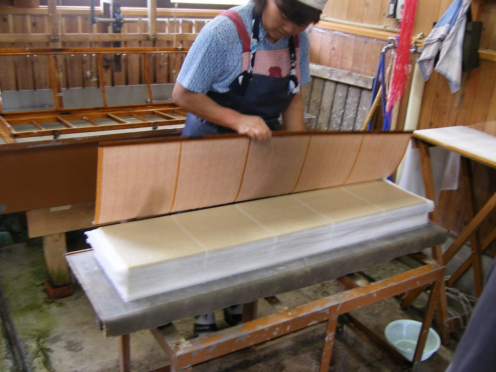Hand papermaking terms