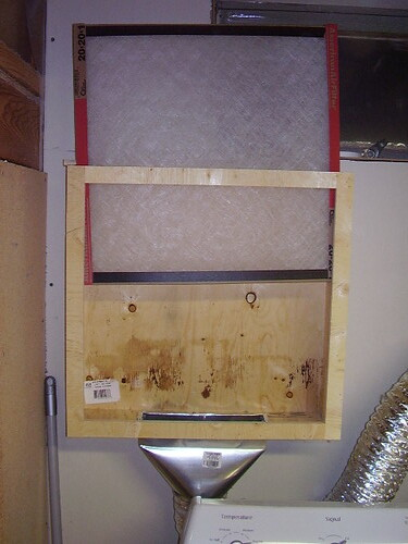 In House Dryer Vent Filter 1 A Box That Fits A 20x20x1