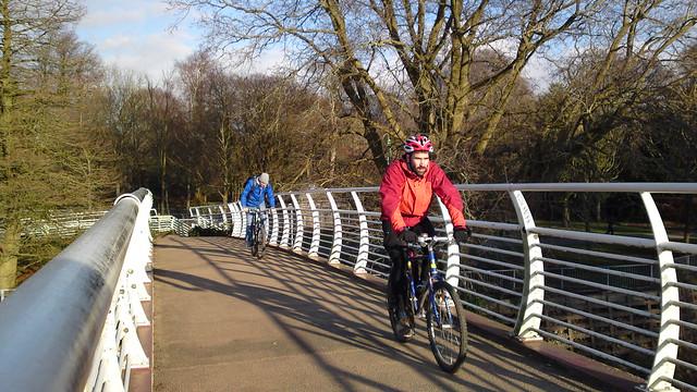 Millennium Bridge Bute Park