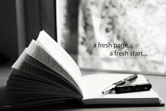 A fresh page... a fresh start... | by kalyan02