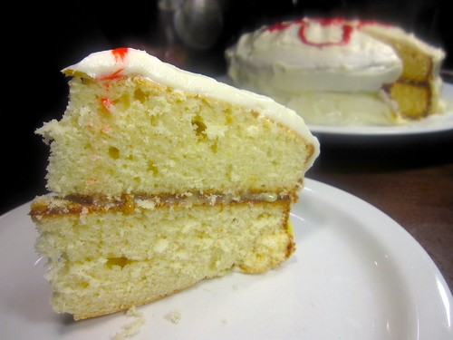 Lemon Buttermilk Cake With Cream Cheese Frosting