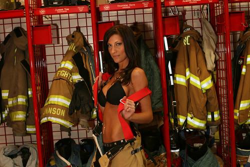 ... Firefighter Calendar Girl | Sexy Firefighter Calendar G… | Flickr
